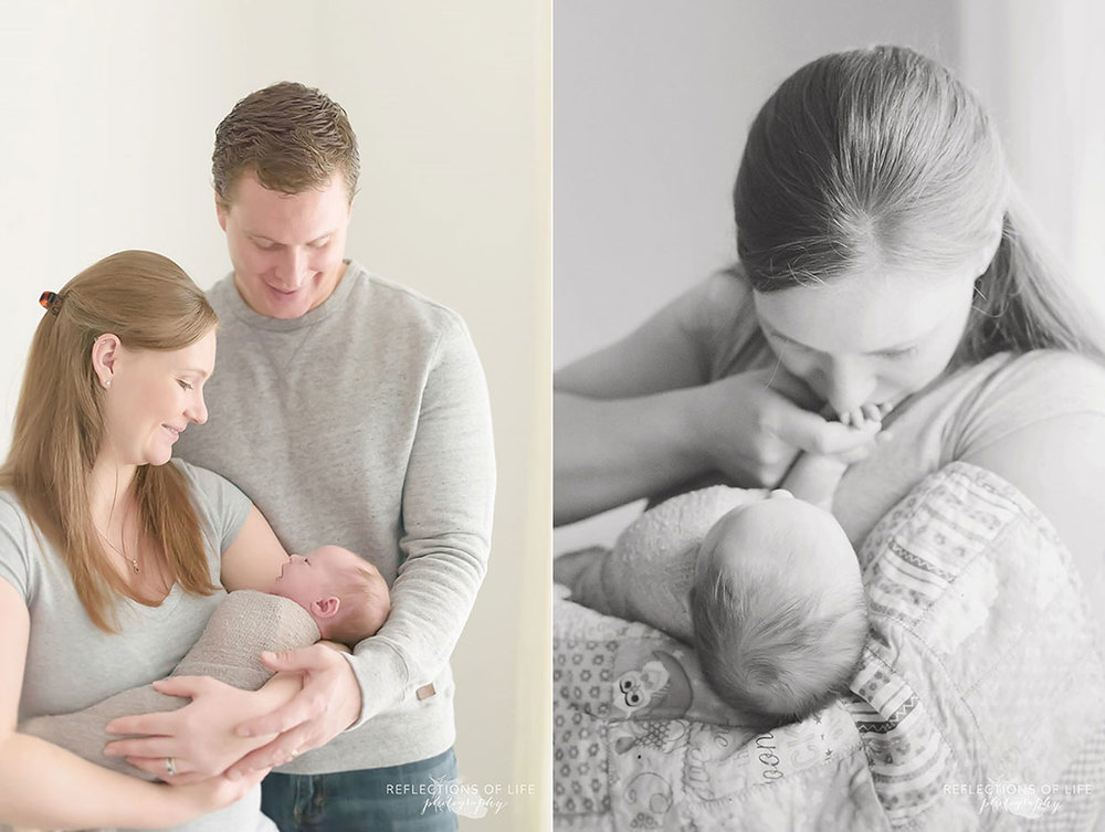 009 Casual and serene newborn portraits Hamilton Ontario