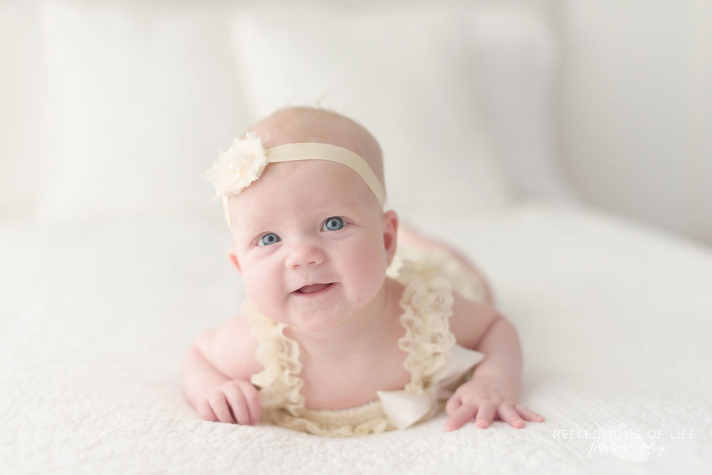 012 Pretty baby portraits in natural light studio Grimsby Ontario