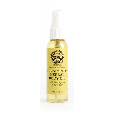 Eucalyptus Herbal Body Oil  from  The Happy Baby Shop