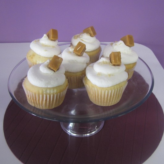 Caramel cupcakes  from  Cake Queens