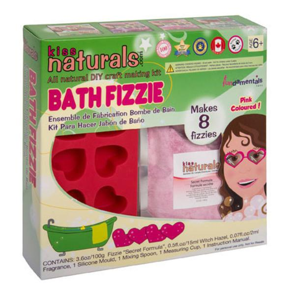 Make  bath fizzies  with this kit from  Mrs Greenway