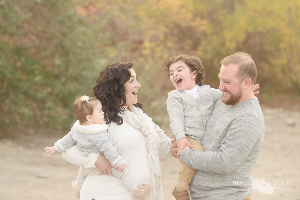 Niagara family photographer Karen Byker specializes in portraits that show true connection and love