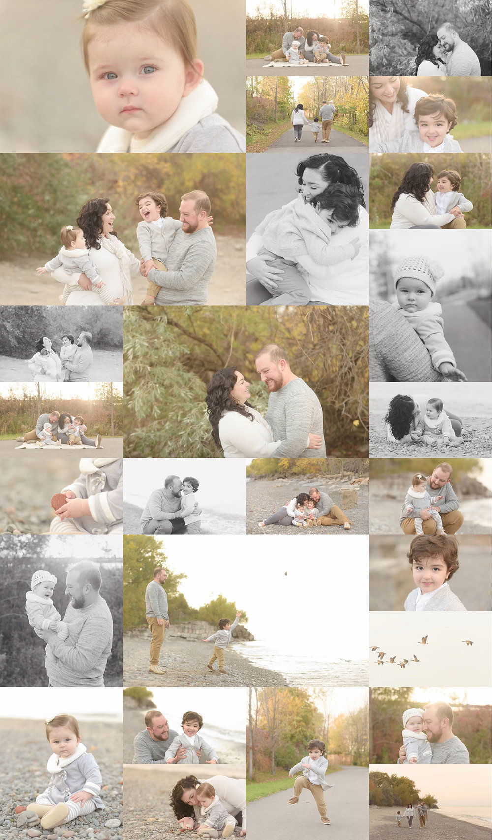 Outdoor Fall Family Sessions 2017