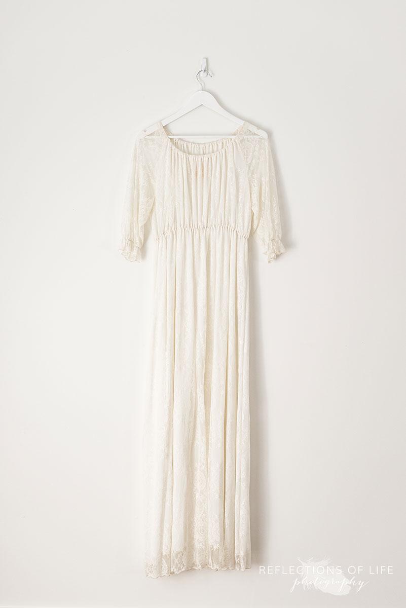 Cream Lace Dress