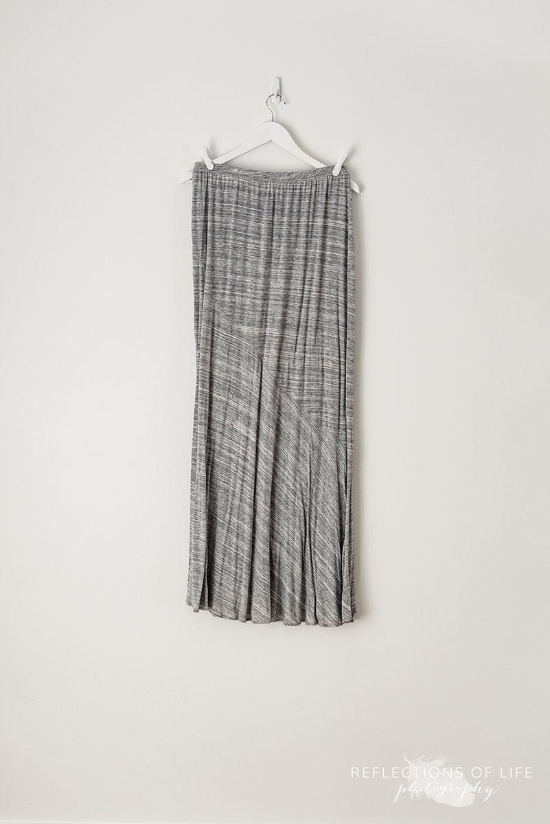Medium Grey Maxi Skirt