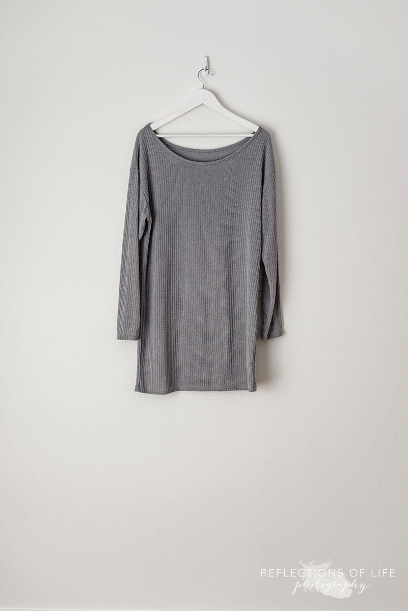 Medium Grey Long Sleeve Shirt