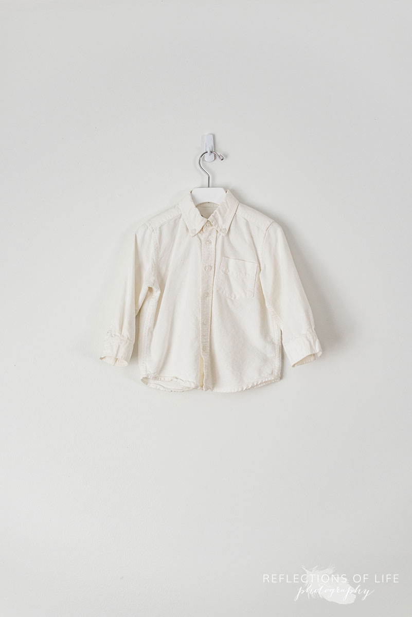 White Longsleeve Dress Shirt