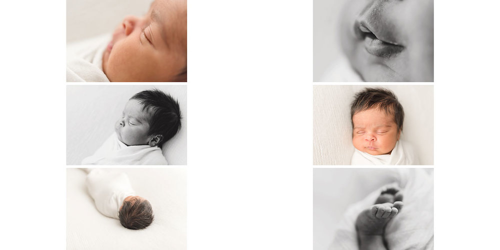 Niagara Newborn Photography Album Design