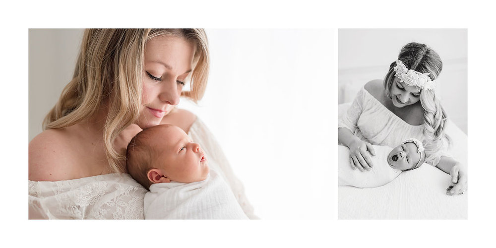 Niagara Newborn Photography Album Design Ontario Canada
