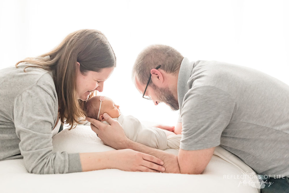 natural light newborn and family photography laughter and love