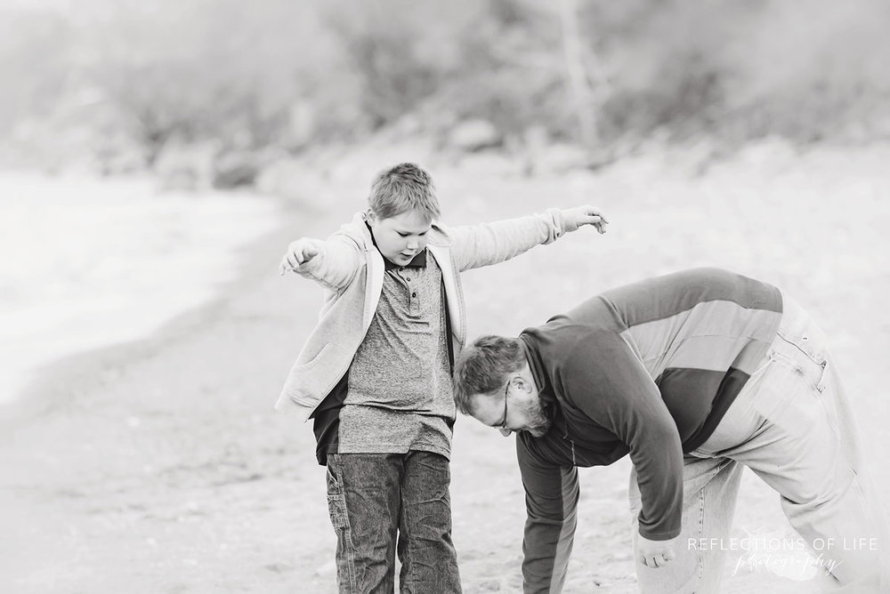 beachside family photography niagara ontario
