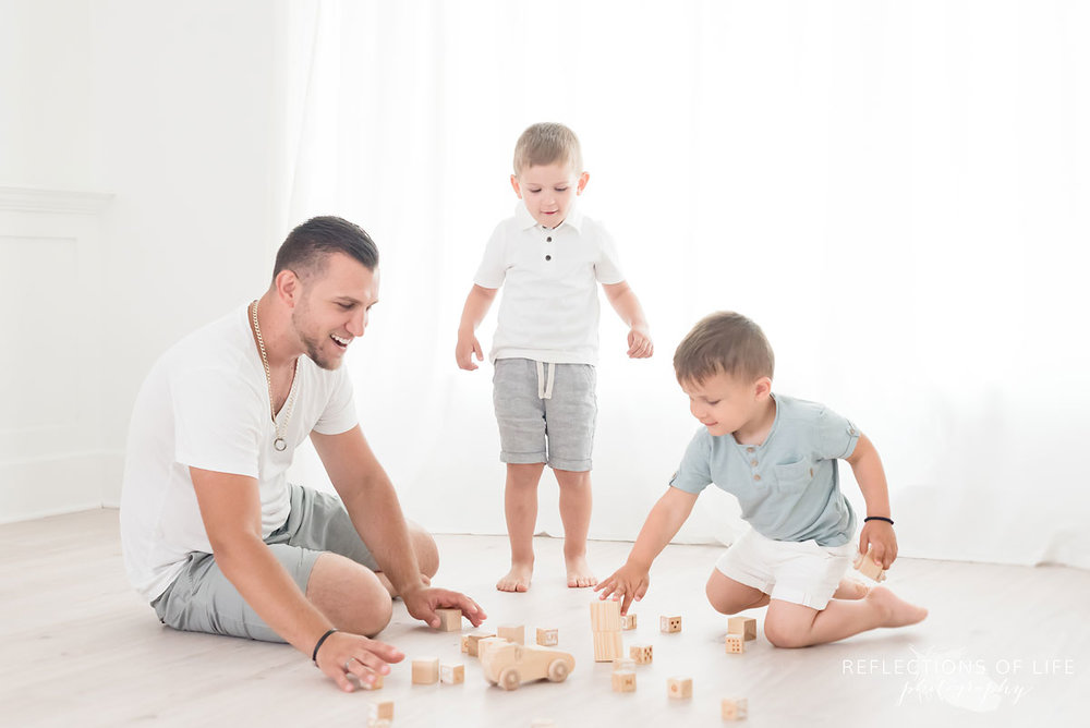 niagara family photography father and sons