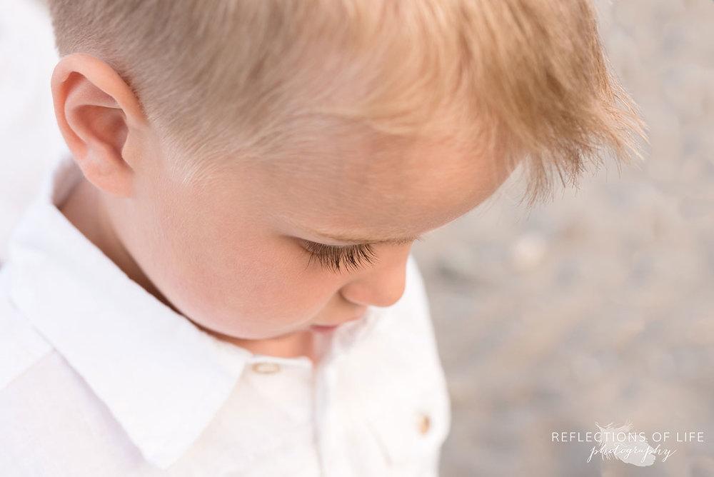 Little boy eyelashes are the best