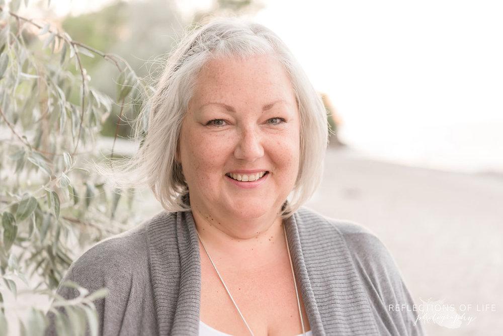Portrait of a woman by professional photographer Karen Byker