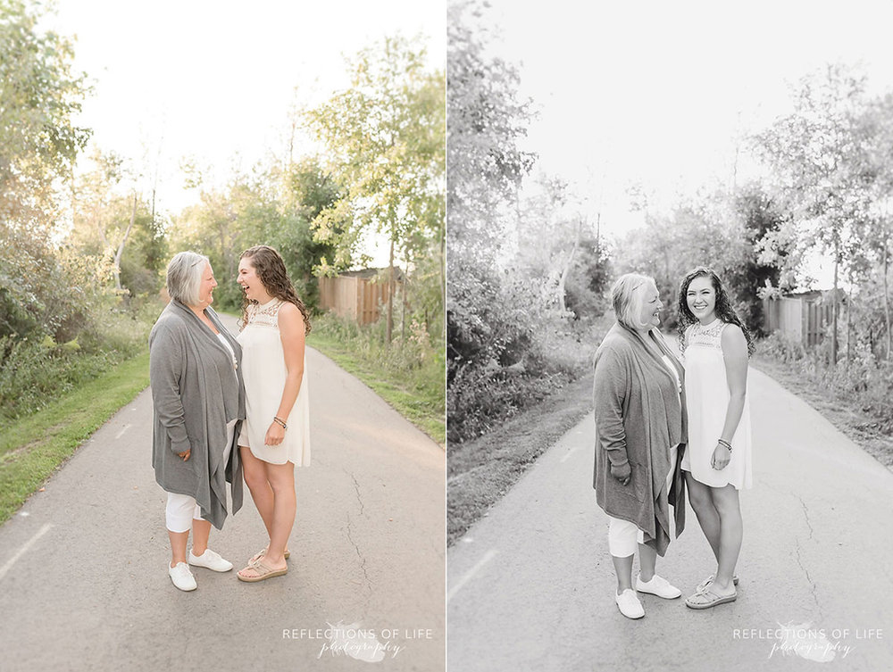 Mother and daughter by professional photographer Karen Byker