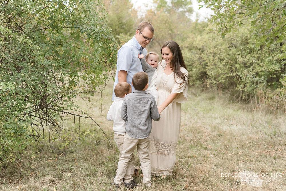 020 family portrait by Karen Byker