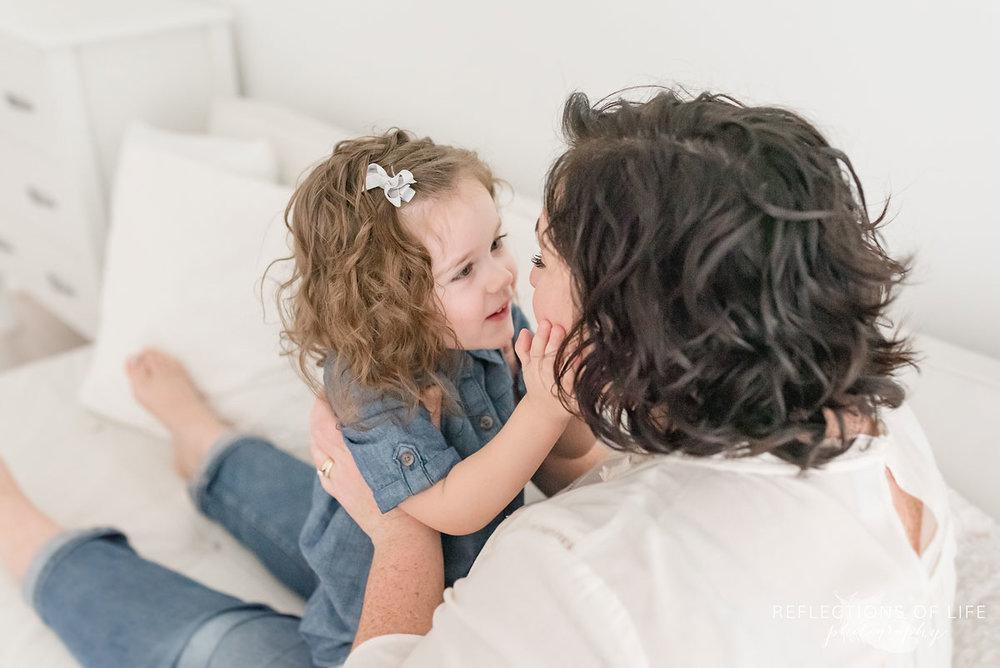 daughter telling mom secrets