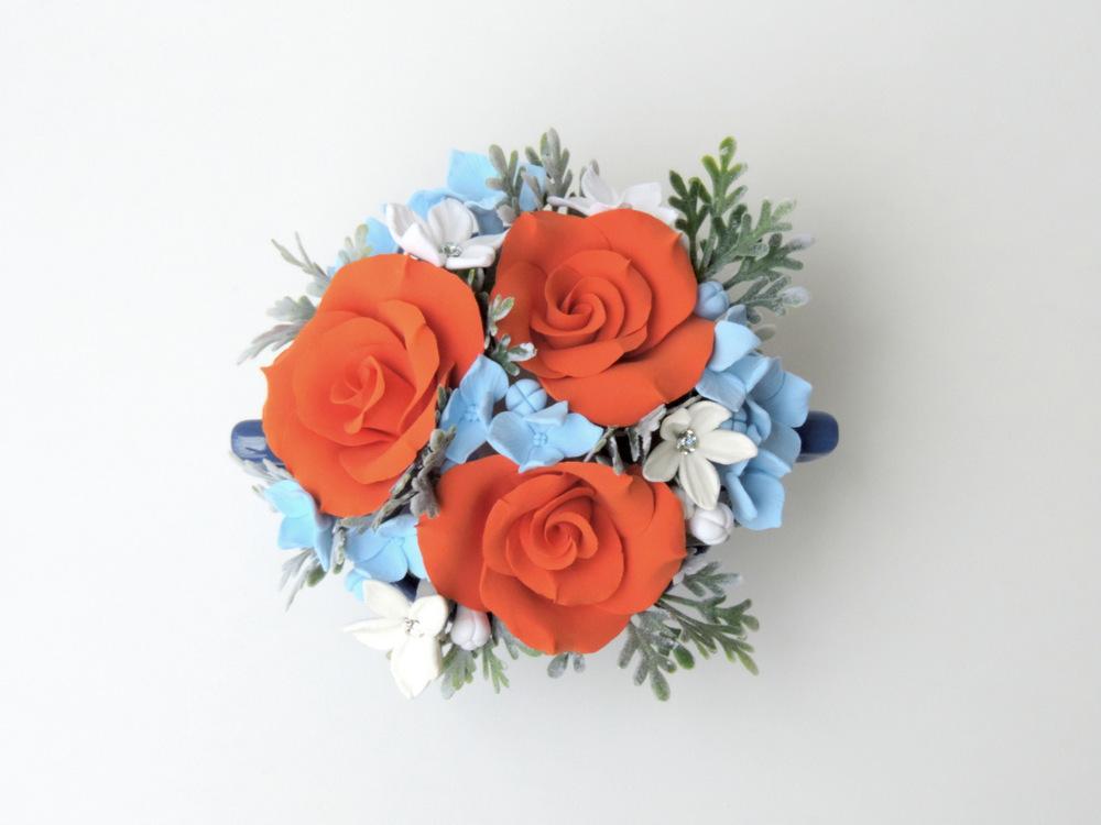 Teacup arrangement_07b_orange blue_Leigh Ann Gagnon.JPG