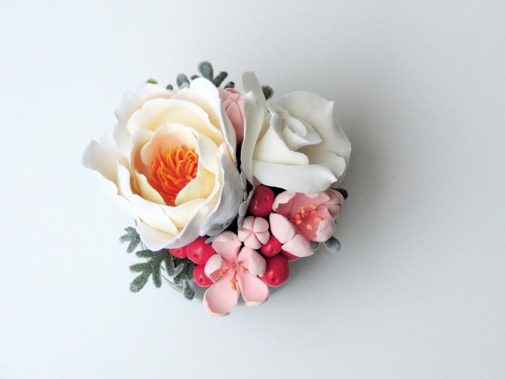 Teacup arrangement_02b_peach sake_Leigh Ann Gagnon.JPG