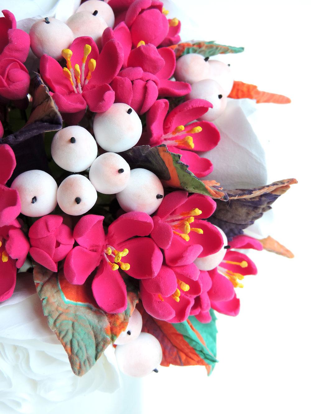 vibrant crabapple blossoms
