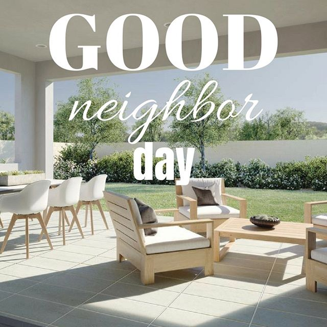 Today is National Good Neighbor Day! It's not only important to have a good neighbor, but to BE a good neighbor. Be a part of our neighborhood and find your place in our ONE and ONLY Miraval Phase 2 home left on the market. Contact us today at 714-313-3241 or visit our website! . . . #MiravalMesaVerde  #MiravalPhase2 #CostaMesa  #OrangeCountyRealEstate #ModernLiving #LuxuryHomes #NationalGoodNeighborDay #Community