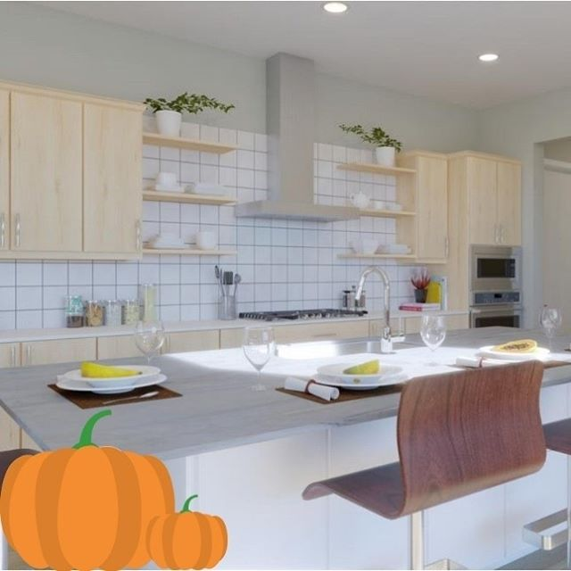 Pumpkin spice and everything nice! Our kitchens are the perfect place to cook up all of your fall creations🎃! . . . #MiravalMesaVerde  #CostaMesa  #OrangeCounty #Halloween
