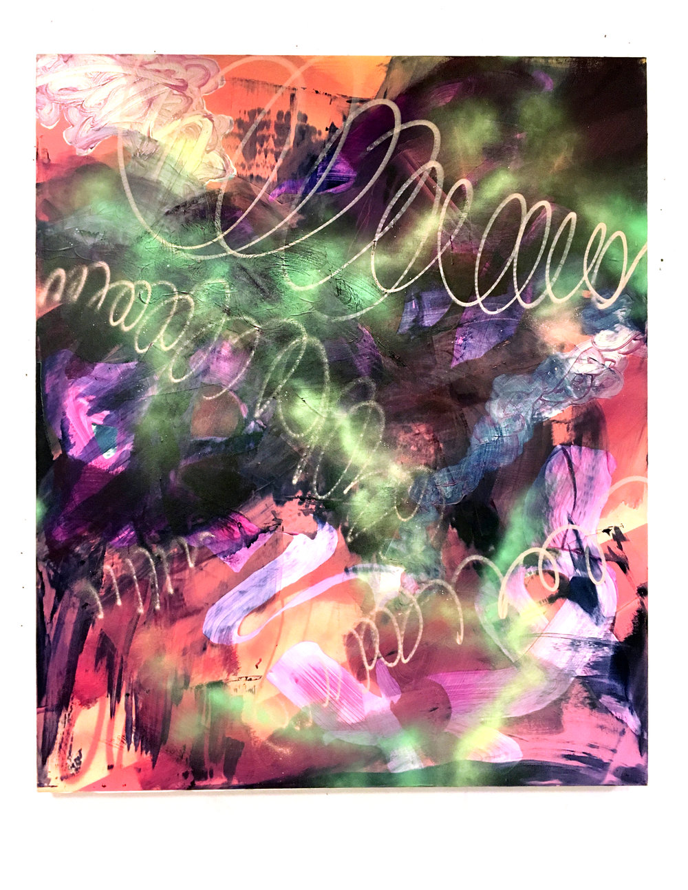 Án titils (Nokkur tungumál) 152x122 cm 2016