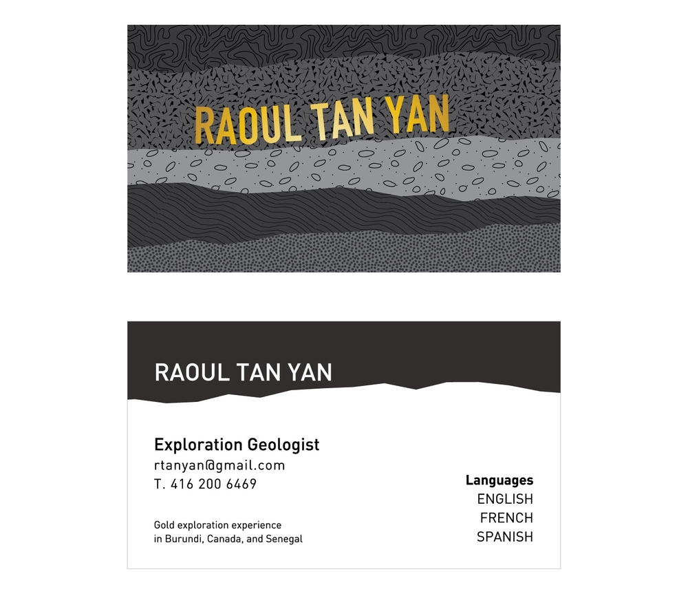 A Geologist\'s Business Card — Elaine Ng