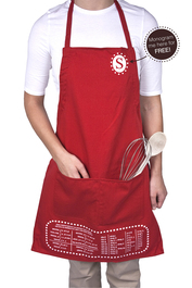 The Smart Baker's Cheat Sheet Apron