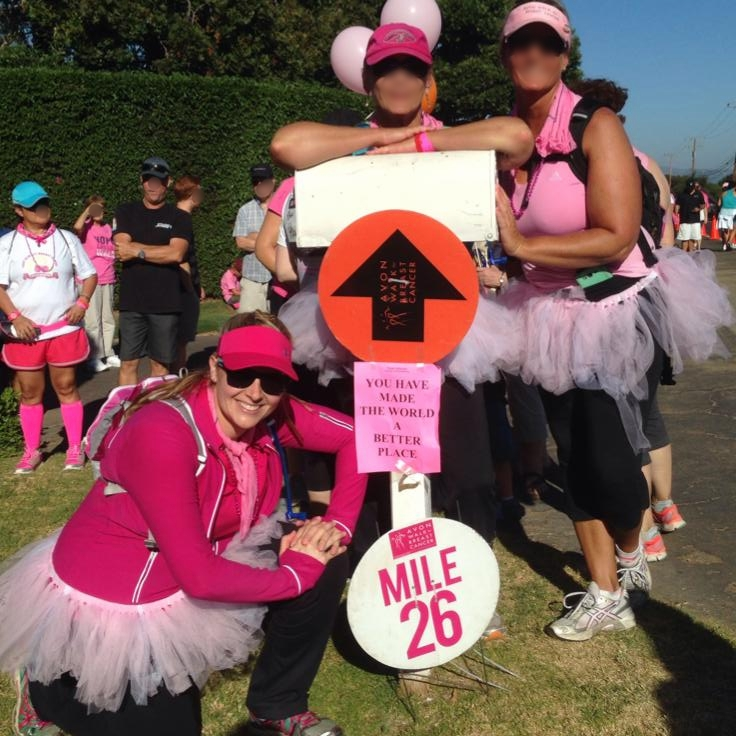 Avon Walk for Breast Cancer Santa Barbara September 2014
