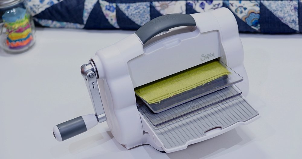 Sizzix - die cutting system used in our tutorials