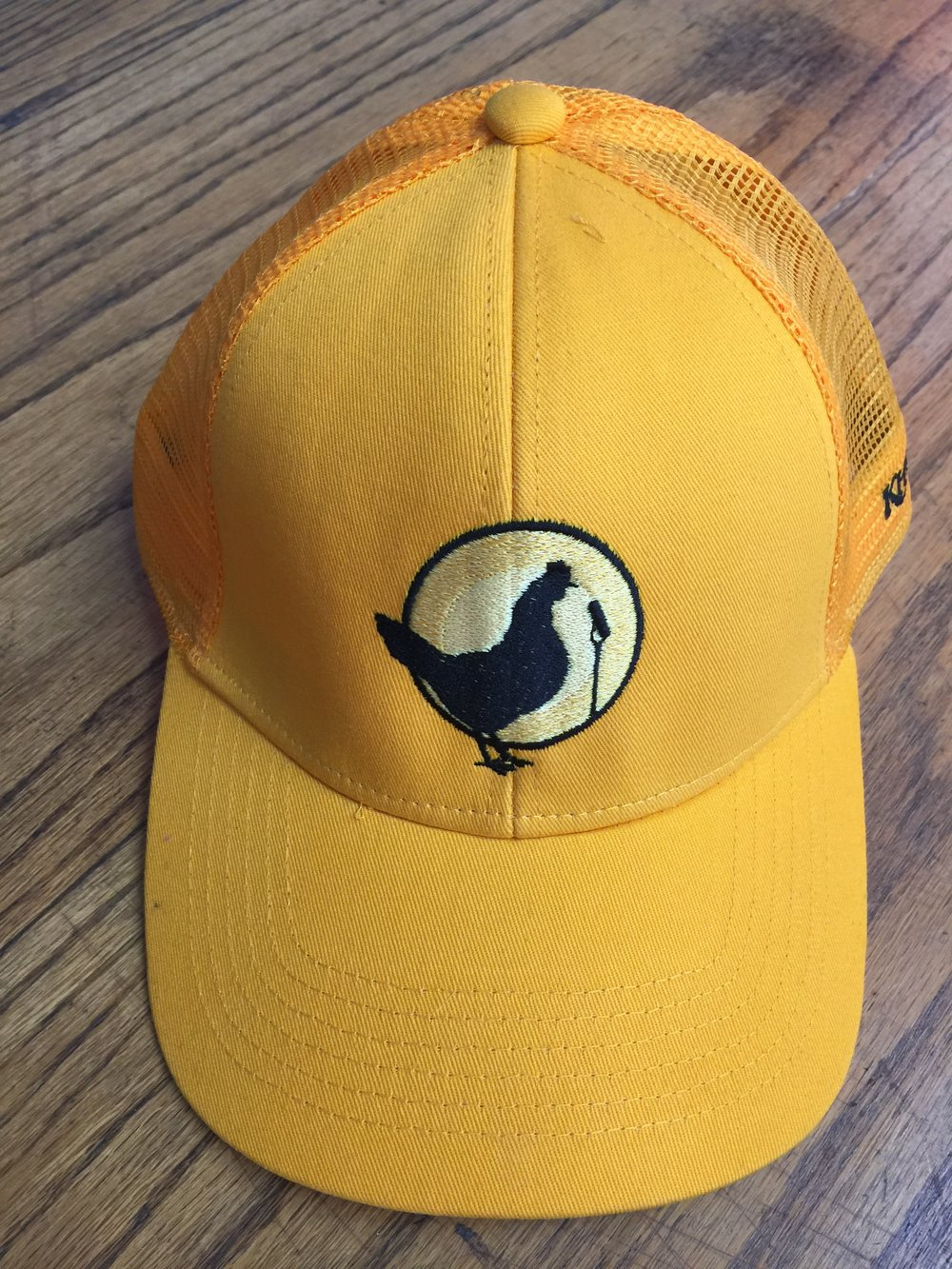 You can get a COOL Yellow Chicken hat with at Fine Feathered Friend Membership! You can get a LIMITED EDITION Black Chicken hat with at Good Cluck Membership!!