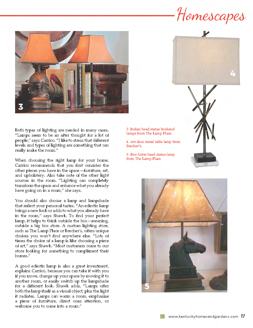 3  U0026nbsp;Indian Head Statue Bookend Lamps From The Lamp Place. 5
