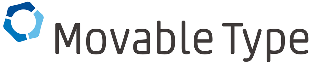 movable type logo