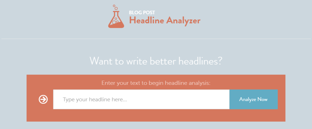 headline analysis tool