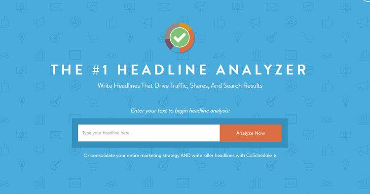 Image result for coschedule headline analyzer
