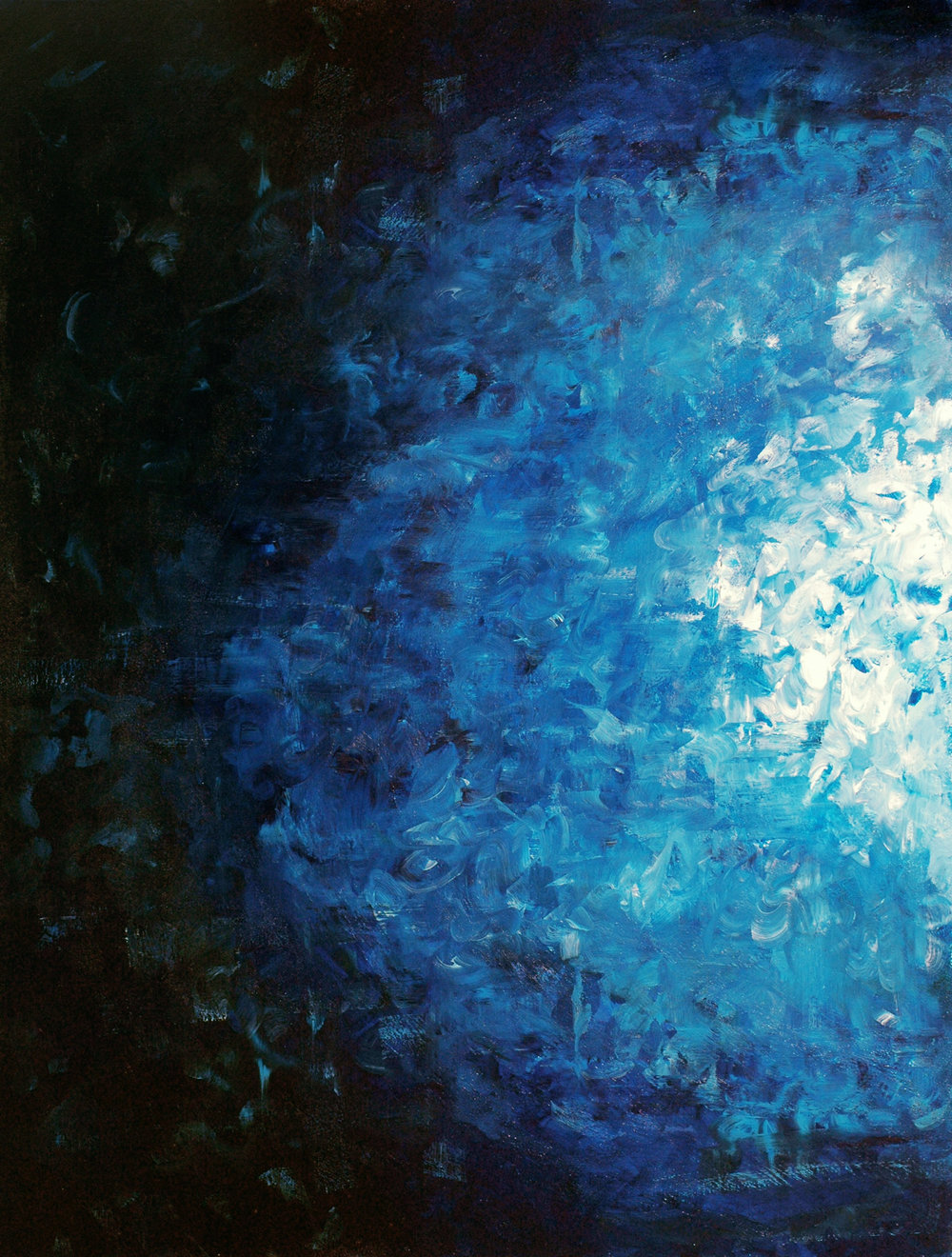 Esperante, 2013, acrylic on canvas, 36x48in
