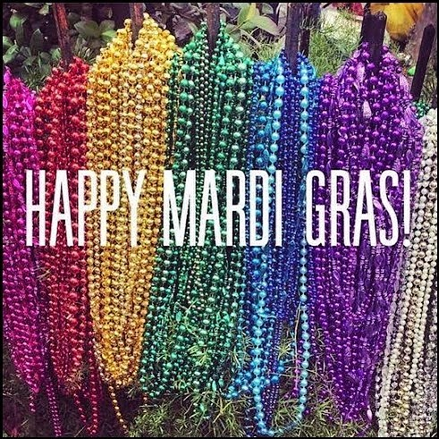 Happy Fat Tuesday!! We are closed today and will reopen tomorrow at 10am! #theoriginalmardigras #laissezlesbontempsrouler