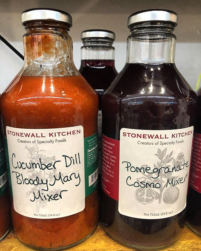 Want to spice up your weekend drinks? New drink mixes just arrived and they are so tasty! #bloodymarys #cosmos #downtownmobileal @happyolivestores