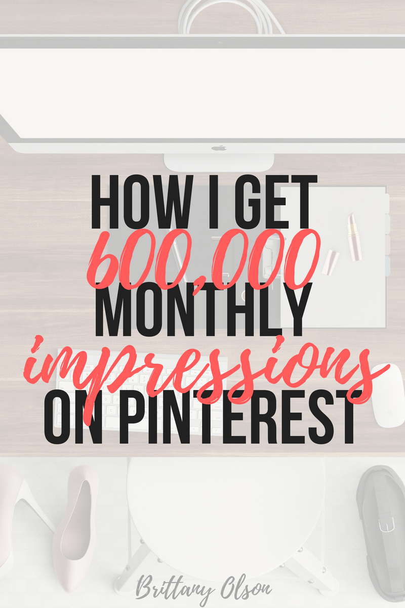 How to grow your Pinterest views and increase your blog traffic fast