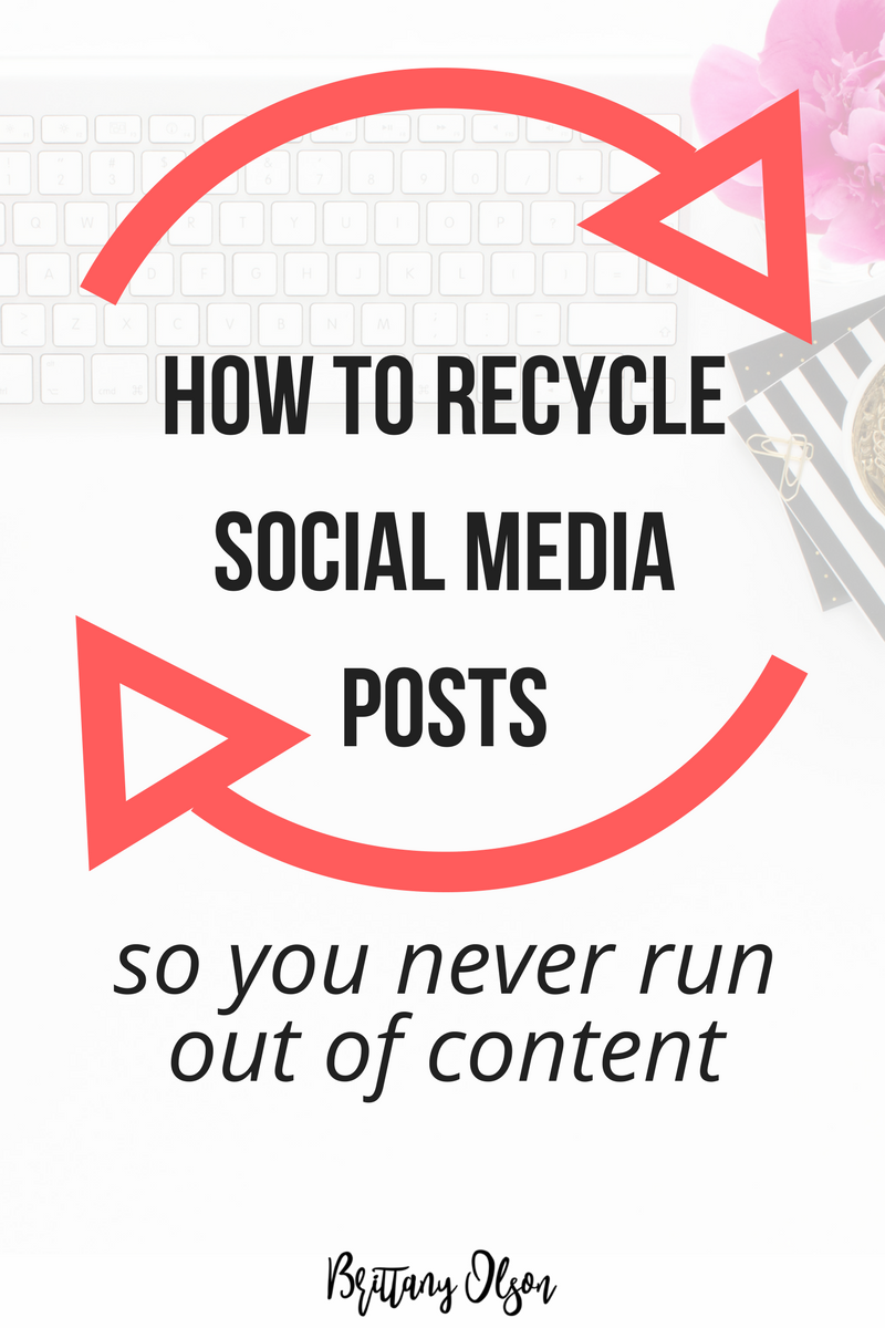 How to Recycle Social Media Content - Meet Edgar Alternative
