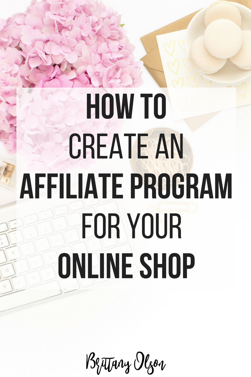 How to create an affiliate program for your online store