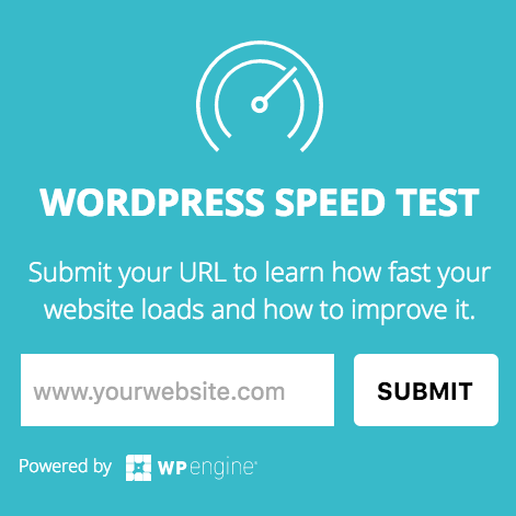wordpress website speed test