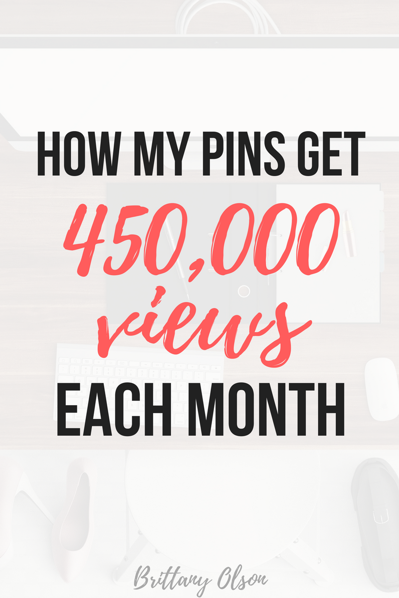 How to grow your Pinterest followers and grow your Pinterest views. How my pins get a ton of views.