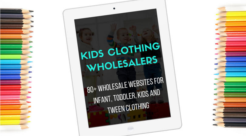 Kids Clothing Wholesalers - Wholesale Children's Clothing Suppliers