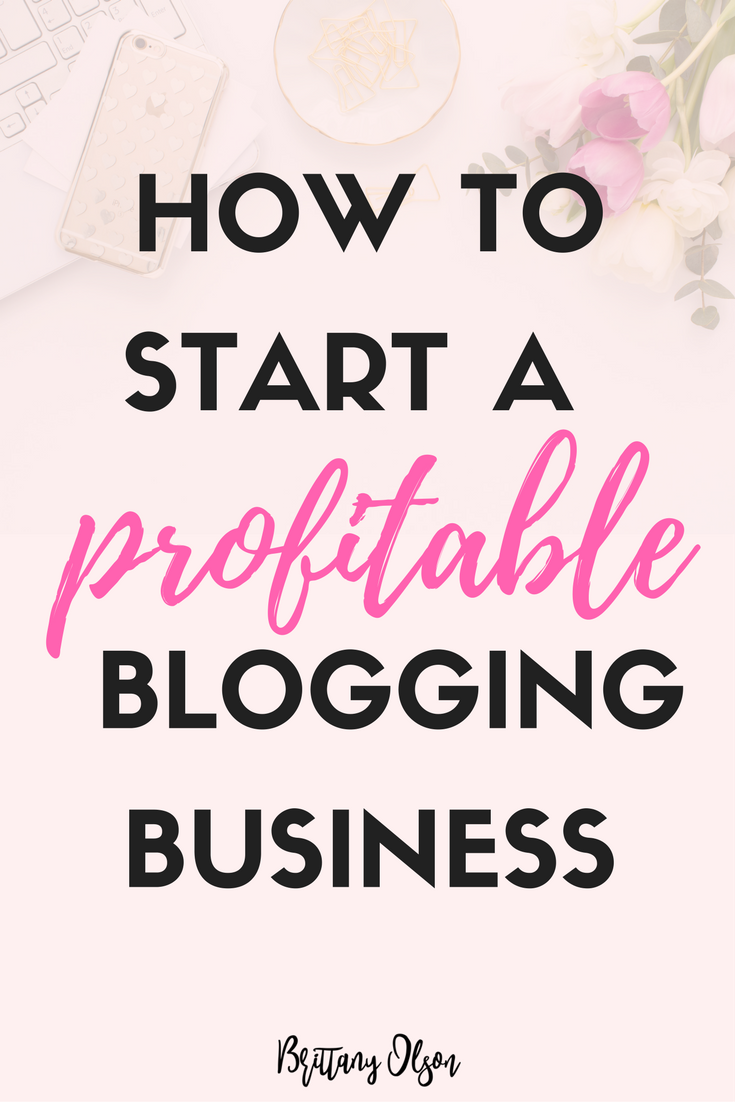 how to start a six figure blogging business plus a blogging template