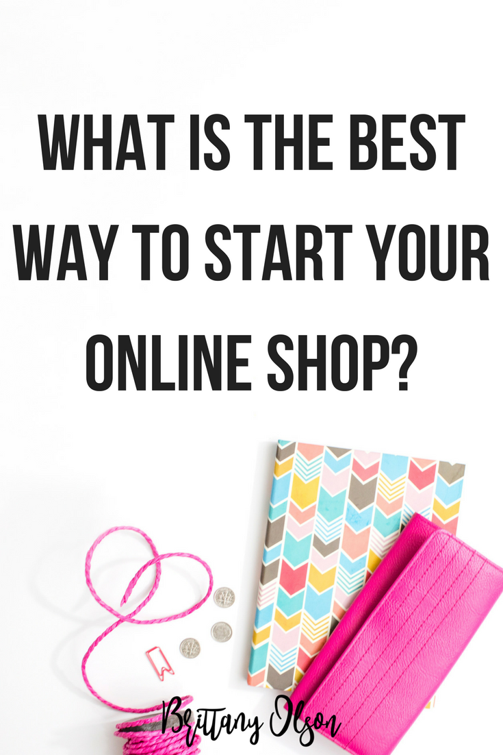 What is the best ecommerce platform for your online boutique? Shopify is the ecommerce platform I recommend for starting an online shop. Sign up for our boutique bootcamp course to learn more about how to start an online shop.
