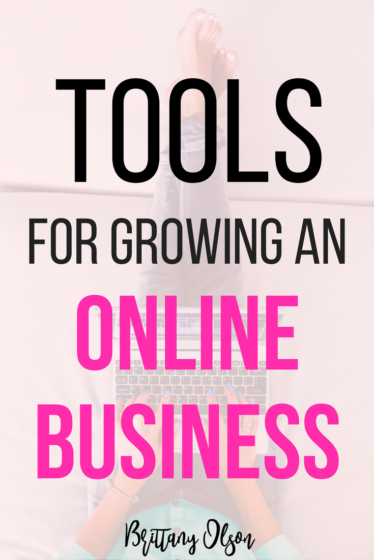 Online business tools to help grow your online business, blog, online boutique or other work from home opportunity. These recommended tools helped me monetize my blog and grow my online business to a full time income