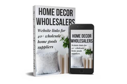 Home Decor Wholesaler Websites