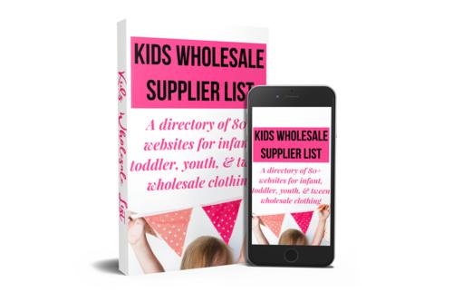 Kids wholesalers - boys wholesale clothing